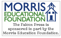 Thank you to the Morris Educational Foundation for sponsoring the Falcon Press!