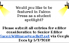 Want to be a Student Spotlight?