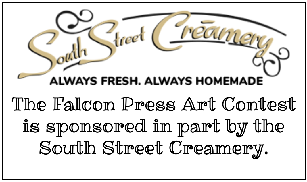 Thank you to the South Street Creamery for sponsoring our Art Contest!