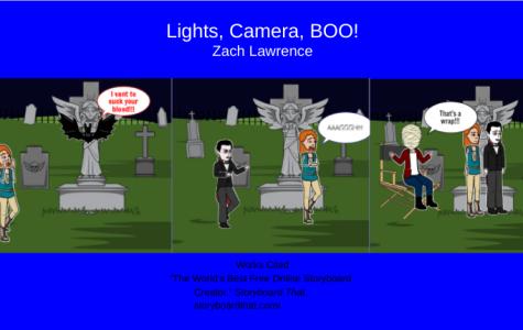Lights, Camera, BOO!