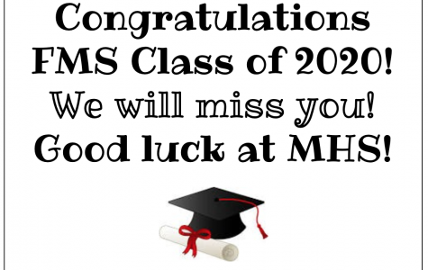 Editor's Note: To FMS' Class Of 2020