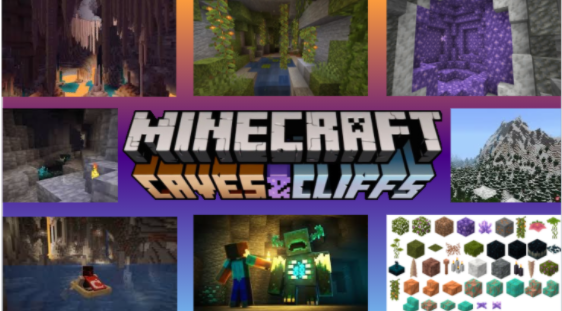 Minecraft 1.17: Caves and Cliffs